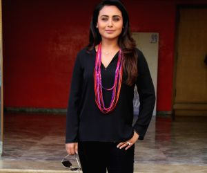 "Promotion of film ""Hichki"" - Rani Mukerji"