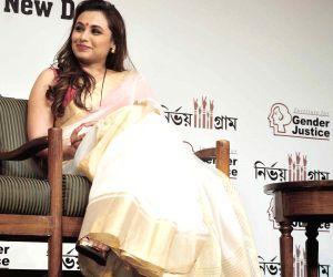 Rani Mukerji during a programme