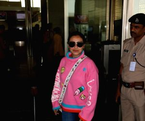 Rani Mukerji seen at airport