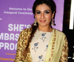 Pics: Actress Raveena Tandon adds festive vibes to her Nach Baliye 9 reality show