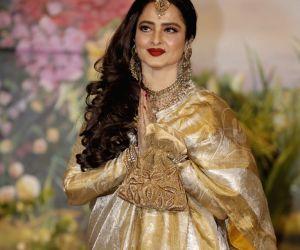 Sonam Kapoor and Anand Ahuja's wedding reception - Rekha