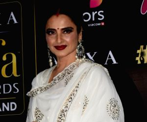 Press conference of the 19thEdition of IIFA - Rekha