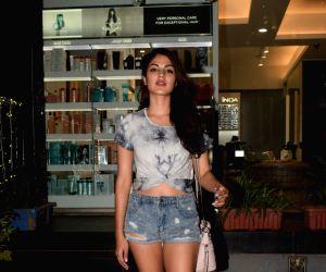 Rhea Chakraborty seen at Mumbai