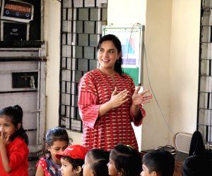Fukrey Returns cast conduct fun acting workshop with underprivileged children