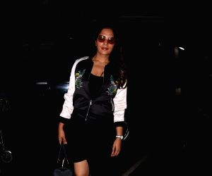 Richa Chadda spotted at airport