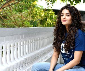 Ritika Singh during a photoshoot