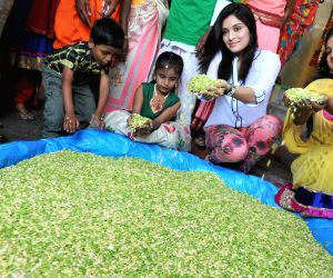 Actress Roopika during inauguration of 'Avare-Mela'