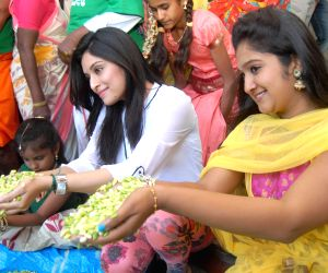 Actress Roopika during inauguration of 'Avare-Mela'