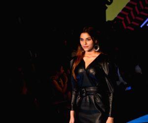 Sai Manjrekar walks the ramp at Lakmé Fashion Week 2020 Day 2
