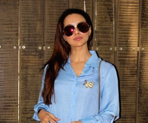 Sana Khan dubs for film Toilet Ek Prem Katha