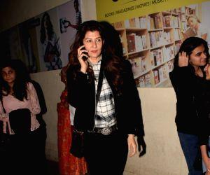 Sangeeta Bijlani seen at PVR Juhu
