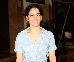 Sanya Malhotra seen at Andheri