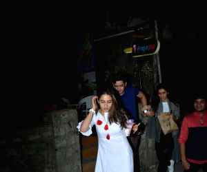 Sara Ali Khan seen at Bandra