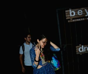 Sara Ali Khan seen at Mumbai's Bandra