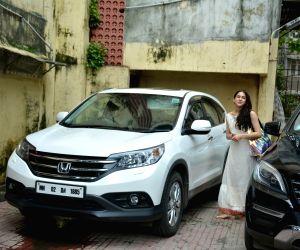 Sara Ali Khan seen at Mumbai's Bandra