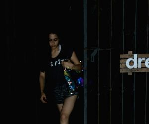 Sara Ali Khan seen in Bandra