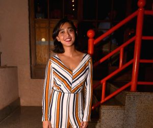 Sayani Gupta during the launch of a restaurant