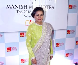 "Red carpet of ""The Walk of Mijwan"" - Shabana Azmi"