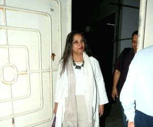"""Special screening of film """"102 Not Out""""- Shabana Azmi"""