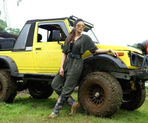 Shama Sikander at the Mud Skull Adventure