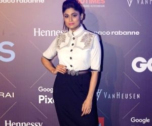 Van Heusen + GQ Fashion Nights 2017 - Shamita Shetty