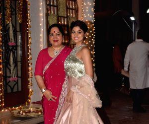 Shilpa Shetty's Diwali party - Shamita Shetty