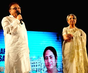 "Safe Drive Save Life"" a programme - Sharmila Tagore,  Madan Mitra"
