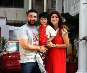 Shilpa Shetty celebrates her son Vivaan 5th birthday