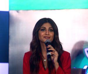 Shilpa Shetty Kundra at a product launch programme
