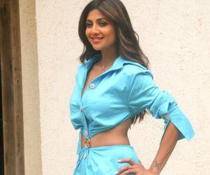 Shilpa Shetty Kundra at 'Hear Me Love Me' media interactions