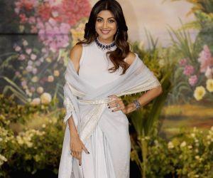 Sonam Kapoor and Anand Ahuja's wedding reception - Shilpa Shetty Kundra
