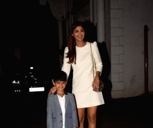 Viaan Raj Kundra's birthday celebration - Shilpa Shetty Kundra and Raj Kundra