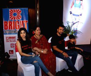Launch of Shilpa Shetty Wellness Series by Tiger Shroff