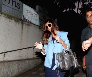 Shilpa Shetty seen at Bandra