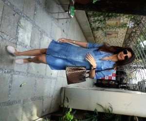 Shilpa Shetty seen at IOSIS spa