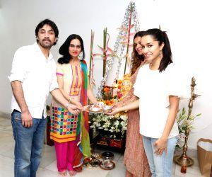 Shraddha Kapoor celebrates Ganesh festival