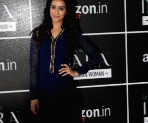 Shraddha Kapoor at Amazon India Fashion Week