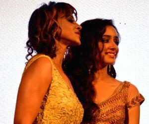 Shraddha Kapoor during announcement of BMW India Bridal Fashion Week-2014