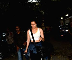 Shraddha Kapoor seen at Juhu