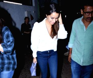 Shraddha Kapoor seen at Bandra