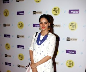 Shruti Seth at Red Carpet Screening of the film Zookeepers Wife
