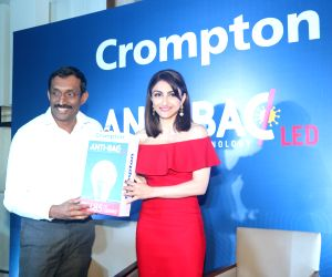 Soha Ali Khan launches 'Anti-Bac LED bulb'