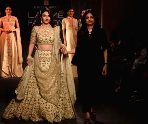 Lakme Fashion Week Winter/Festive 2019 - Soha Ali Khan