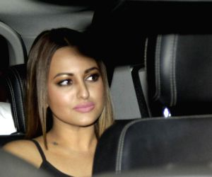 Sonakshi Sinha at Deepika Padukone's party