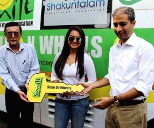 Sonakshi Sinha launch Smile on Wheels