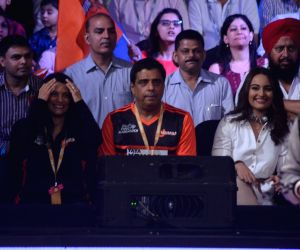 : Mumbai: Sonakshi Sinha attend Star Sports Pro Kabaddi Season 4