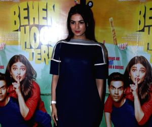 Screening of film Behen Hogi Teri