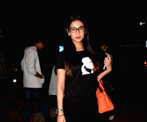 Sonal Chauhan seen at a Mumbai restaurant