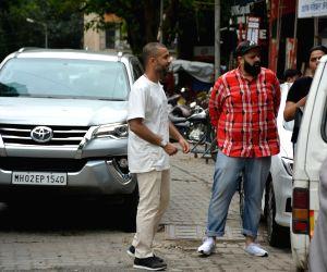 Anand Ahuja seen at Mumbai's Bandra