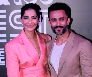 Sonam Kapoor and husband